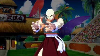 Dragon Ball FighterZ - Yamcha & Tien trailer